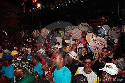 Bumba meu boi festival carnival brazil Editorial Stock Photo