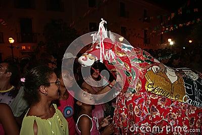 Bumba meu boi festival carnival brazil Editorial Stock Photo