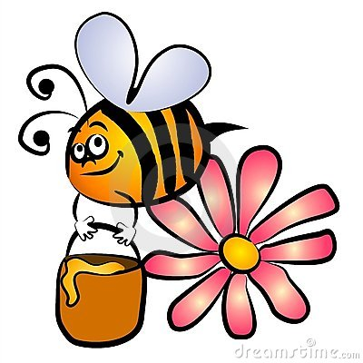 Free Bumble Bee Honey Clip Art Royalty Free Stock Photos - 2759948