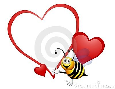 Bumble Bee My Valentine