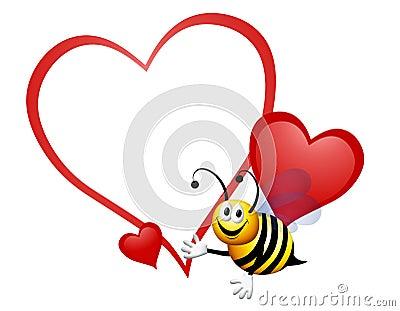 Bumble Bee My Valentine