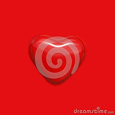 Bumped heart