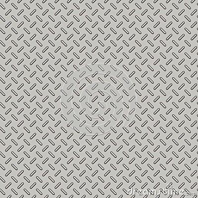 Bumped Metal Plate Seamless Pattern