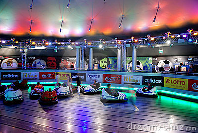 Bumper car Editorial Stock Photo