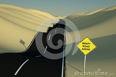 Bumpy Road Ahead