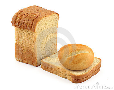 Bun and toast bread