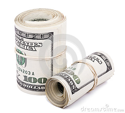 Two 100 US$ Rolls