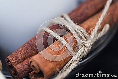 Bunch of cinnamon stick