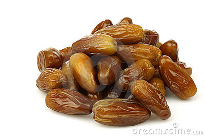 Bunch of dried dates