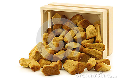 Bunch of Dutch traditionally baked pepernoten