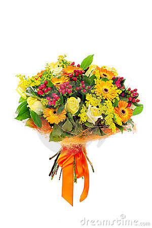 A Bunch Of Flowers Royalty Free Stock Images - Image: 17259869