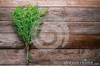 Bunch of herb equisetum arvense