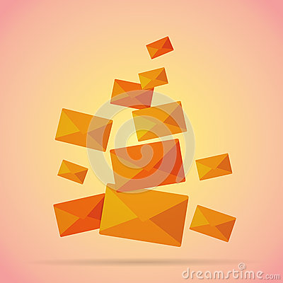 Free Bunch Of Mails Royalty Free Stock Photography - 35394957