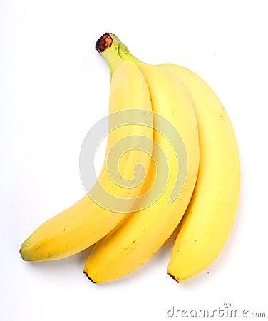 Bunch of ripe banana.