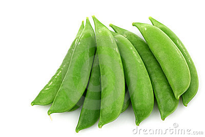 Bunch of sugar snaps