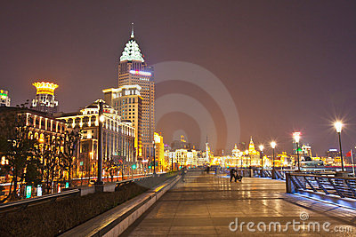 The bund of Shanghai 2 Editorial Photography