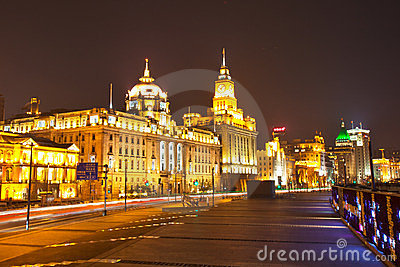 The bund of Shanghai 4