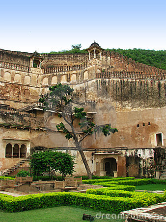Bundi, India: Gardens of Maharajah s Palace