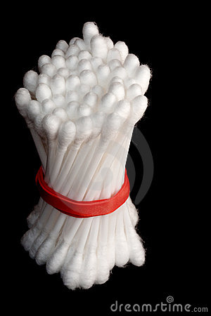 Bundle of Cotton Swabs