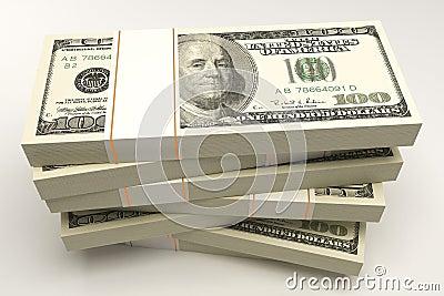 Bundle of Dollar Note