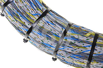 Bundle of network cables