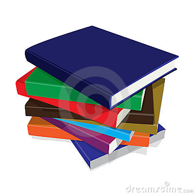 Free Bundle Of Books Stock Photos - 8410723