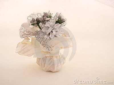 Bundled White Wedding Favor Candy Two