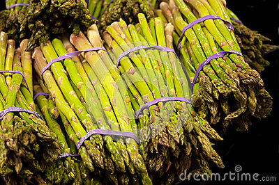 Bundles of Asparagas