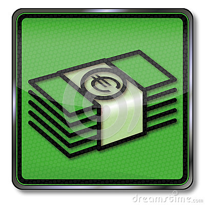 Free Bundles Of Money In Euros Royalty Free Stock Images - 48728759