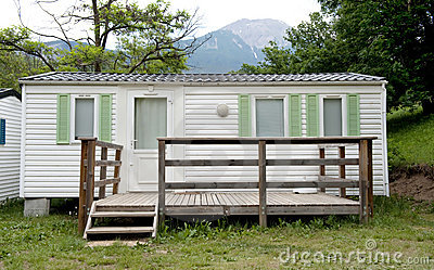 Bungalow at camping