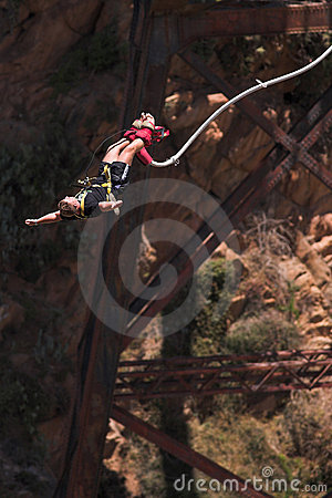 Free Bungee Jumper 4 Stock Image - 1762111