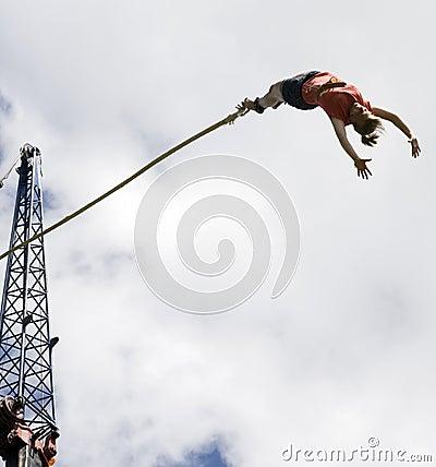Free Bungee Jumping Stock Photo - 13188130