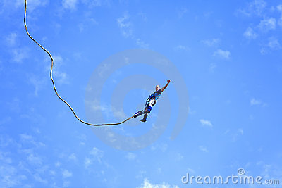 Bungee Jumping Editorial Photography