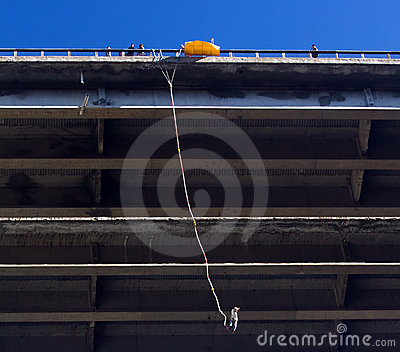 Bungee jumping Editorial Image
