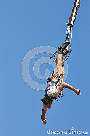 Free Bungee Jumping Stock Photo - 48803410