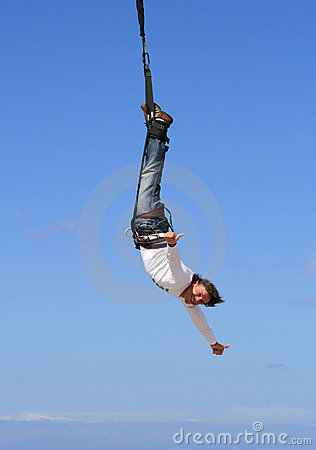 Free Bungeejumping1 Royalty Free Stock Image - 6065336
