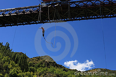 Bungy Jumping Stock Photos - Image: 24253553