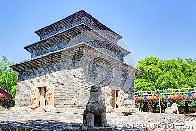Bunhwangsa Pagoda temple