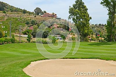 Bunker La quinta golf