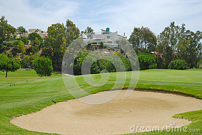 Bunker in La Quinta golf
