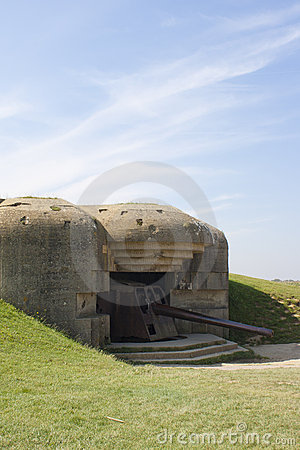 Bunker from Second World War in France