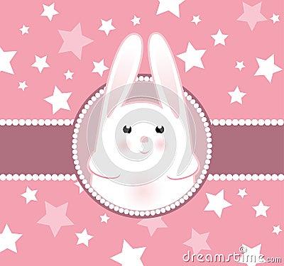 Bunny girl arrival card