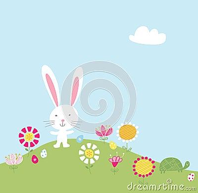 Bunny Hill Illustration