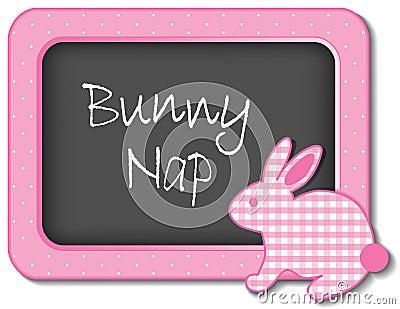 Bunny Nap Nursery Frame