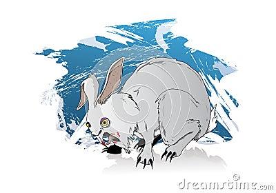 Bunny rabbit of death