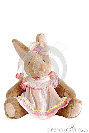 Bunny stuffed