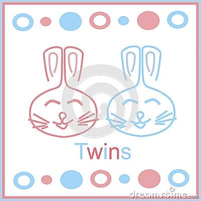 Bunny twins