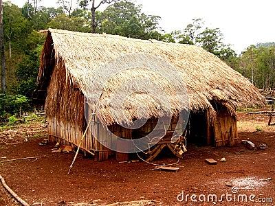 Bunong Hut, Cambodia