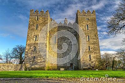 Bunratty castle in Co. Clare