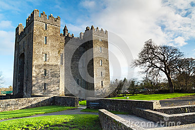Bunratty castle in Co. Clare